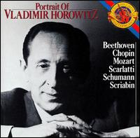 Portrait of Vladimir Horowitz - Vladimir Horowitz (piano)