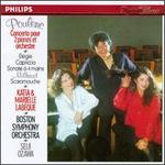 Poulenc: Concerto pour 2 pianos et orchestra; Milhaud: Scaramouche