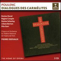 Poulenc: Dialogues des Carmélites - Charles Paul (vocals); Denise Duval (vocals); Gisele Desmoutiers (vocals); Janine Fourrier (vocals); Liliane Berton (vocals);...