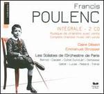 Poulenc: Int�grale Musique du Chambre avec Vents