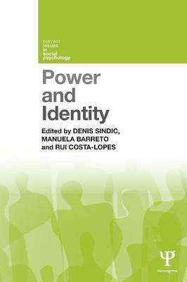 Power and Identity - Sindic, Denis (Editor)