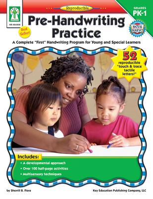 """Pre-Handwriting Practice: A Complete """"First"""" Handwriting Program for Young and Special Learners - Flora, Sherrill B"""