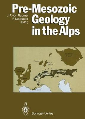 Pre-Mesozoic Geology in the Alps - Raumer, J F V (Editor)