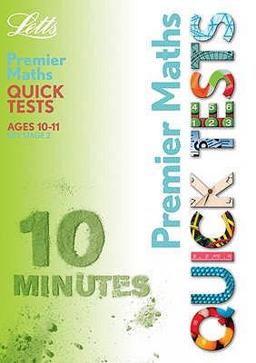 Premier Maths Quick Tests - Broadbent, Paul, and Fidge, Louis