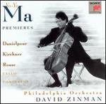 Premieres: Danielpour, Kirchner, Rouse - Cello Concertos