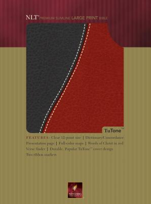 Premium Slimline Large Print Bible-NLT - Tyndale House Publishers (Creator)