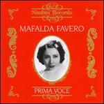 Prima Voce: Mafalda Favero
