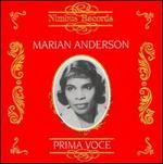 Prima Voce: Marian Anderson
