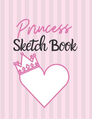 Princess Sketch Book: Sketch Book: Giraffe Pink Journal with Draw, Write, Doddle, Diary, Jotter, Blank pages 120 pages Children Girls Special Gift - Books, Carrigleagh