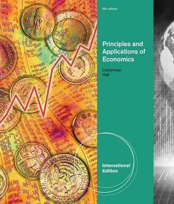 Principles and applications of economics book by marc lieberman principles and applications of economics lieberman marc and hall robert fandeluxe Gallery