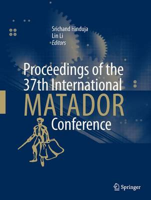 Proceedings of the 37th International Matador Conference - Hinduja, Srichand (Editor)
