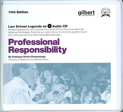 Professional Responsibility, 10th (Law School Legends Audio Series) - Chemerinsky, Erwin