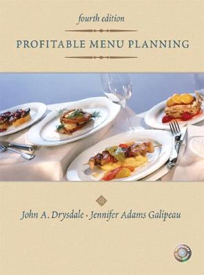 Profitable Menu Planning - Drysdale, John, and Galipeau, Jennifer