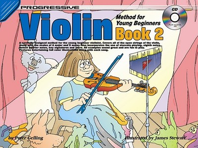 Progressive Violin Method for Young Beginners Book 2 - Gelling, Peter