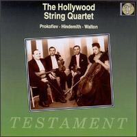 Prokofiev, Hindemith, Walton - Eleanor Aller (cello); Felix Slatkin (violin); Hollywood String Quartet; Paul Robyn (viola); Paul Shure (violin)
