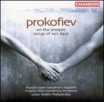 Prokofiev: On the Dnieper; Songs of Our Days