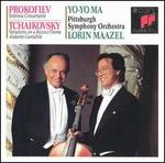 Prokofiev: Sinfonia Concertante; Tchaikovsky: Variations on a Rococo Theme; Andante Cantabile