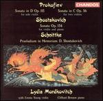 Prokofiev: Sonata in D; Sonata in C; Shostakovich: Sonata; Schnittke: Praeludium in Memorian D. Shostakovich