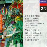 Prokofiev: The 5 Piano Concertos - Vladimir Ashkenazy (piano); London Symphony Orchestra; André Previn (conductor)