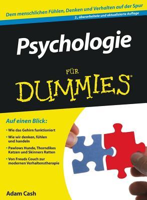 Psychologie Fur Dummies - Cash, Adam