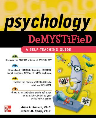Psychology Demystified - Romero, Anna