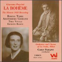 Puccini: La Bohème - Aristide Baracchi (vocals); Aristodemo Giorgini (tenor); Ernesto Badini (vocals); Giuseppe Nessi (vocals);...