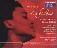 Puccini: La Bohème - Alan Opie (baritone); Alastair Miles (bass); Andrew Shore (baritone); Andrew Shore (vocals); Cynthia Haymon (soprano);...