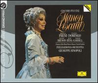 Puccini: Manon Lescaut - Brigitte Fassbaender (vocals); Elizabeth Sikora (vocals); Elizabeth Stanford (vocals); George MacPherson (vocals);...