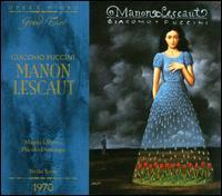 Puccini: Manon Lescaut - Alfredo Mariotti (vocals); Carlo del Bosco (vocals); Ermanno Lorenzi (vocals); Franco Federici (vocals);...