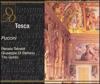 Puccini: Tosca - Antonio Eros Negri (vocals); Franco Piva (vocals); Giuseppe di Stefano (vocals); Giuseppe Morresi (vocals);...