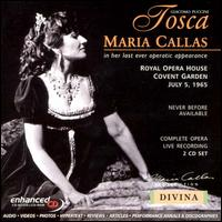 Puccini: Tosca - Dennis Wicks (vocals); Eric Garrett (vocals); John Dobson (vocals); Maria Callas (soprano); Renato Cioni (vocals);...
