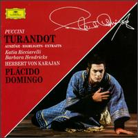 Puccini: Turandot [Highlights] - Barbara Hendricks (soprano); Francisco Araiza (vocals); Gottfried Hornik (baritone); Heinz Zednik (tenor);...