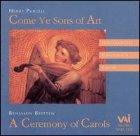 Purcell: Come Ye Sons of Art; Britten: A Ceremony of Carols - Beverly Wesner-Hoehn (harp); Davis Brooks (violin); Jann Cosart (viola); Katie Stark (vocals); Laura Goetz (oboe);...