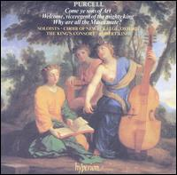 Purcell: Come ye sons of Art; Welcome, viceregent of the mighty king; Why are all the Muses mute? - Gillian Fisher (soprano); James Bowman (counter tenor); John Mark Ainsley (tenor); Mark Padmore (tenor);...