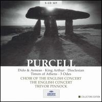 Purcell: Dido & Aeneas; King Arthur; Dioclesian; Timon of Athens; 3 Odes [Box Set] - Angus Davidson (vocals); Ann Monoyios (soprano); Anne Sofie von Otter (vocals); Brian Bannatyne-Scott (bass);...