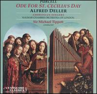 Purcell: Ode for St. Cecilia's Day - Alfred Deller (counter tenor); Ambrosian Singers; April Cantelo (soprano); George Eskdale (trumpet); John Frost (bass);...