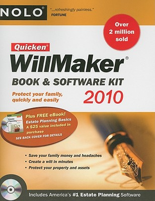 Quicken Willmaker: Book & Software Kit - Nolo Press (Creator)