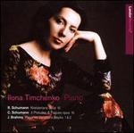 R. Schumann: Kreisleriana; C. Schumann: 3 Preludes & Fugues; Brahms: Paganini Variations Books 1 & 2
