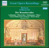 R. Strauss: Der Rosenkavalier (abridged) - Alexander Kipnis (vocals); Anni Andrassy (vocals); Barbara Kemp (vocals); Bella Paalen (vocals); Conchita Supervia (vocals);...