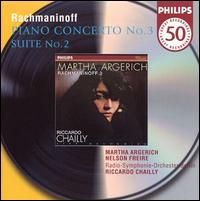 Rachmaninoff: Piano Concerto No. 3, Op. 30; Suite No. 2 for two pianos - Martha Argerich (piano); Nelson Freire (piano); Berlin Radio Symphony Orchestra; Riccardo Chailly (conductor)