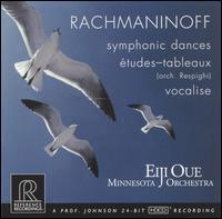 Rachmaninoff: Symphonic Dances; Vocalise; Etudes-tableaux - Minnesota Orchestra; Eiji Oue (conductor)