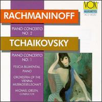 Rachmaninoff/Tchaikovsky - Felicja Blumental (piano); Wiener Musikgesellschaft Orchester; Michael Gielen (conductor)
