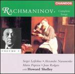 Rachmaninov: Complete Songs, Vol. 3
