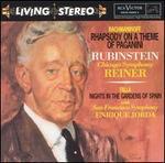 Rachmaninov: Rhapsody on a Theme of Paganini; de Falla: Nights in the Gardens of Spain; Chopin: Grande Polonaise
