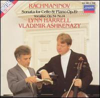 Rachmaninov: Sonata for Cello & Piano, Op. 29; Vocalise, Op. 34, No. 14 - Lynn Harrell (cello); Vladimir Ashkenazy (piano)