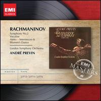 Rachmaninov: Symphony No. 2; Vocalise; Aleko Intermzzo & Women's Dance - London Symphony Orchestra; André Previn (conductor)