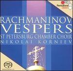 Rachmaninov: Vespers [2002 Recording]