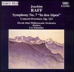 """Raff: Symphony No. 7 """"In den Alpen""""; Concert Overture, Op. 123"""