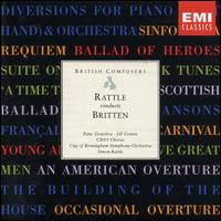 Rattle Conducts Britten - Alison Hargan (soprano); Felix Kok (violin); Jeremy Ballard (violin); Jill Gomez (soprano); Mary King (contralto);...
