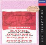 Ravel: Introduction & Allegro; Debussy: Sonata for flute & viola L137